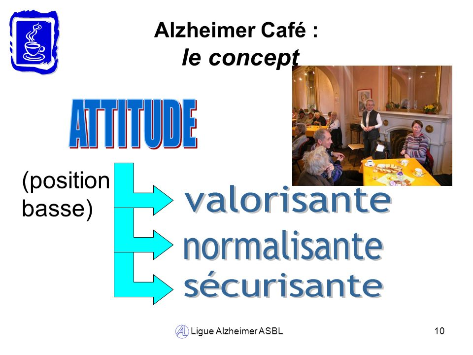 Alzheimer Café : le concept