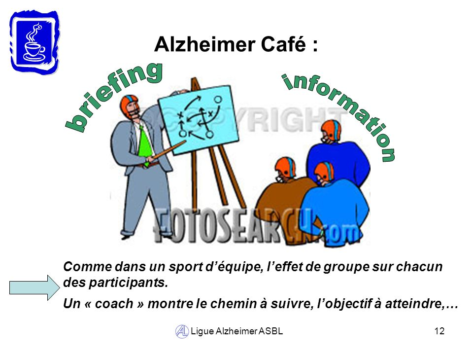 briefing information Alzheimer Café :