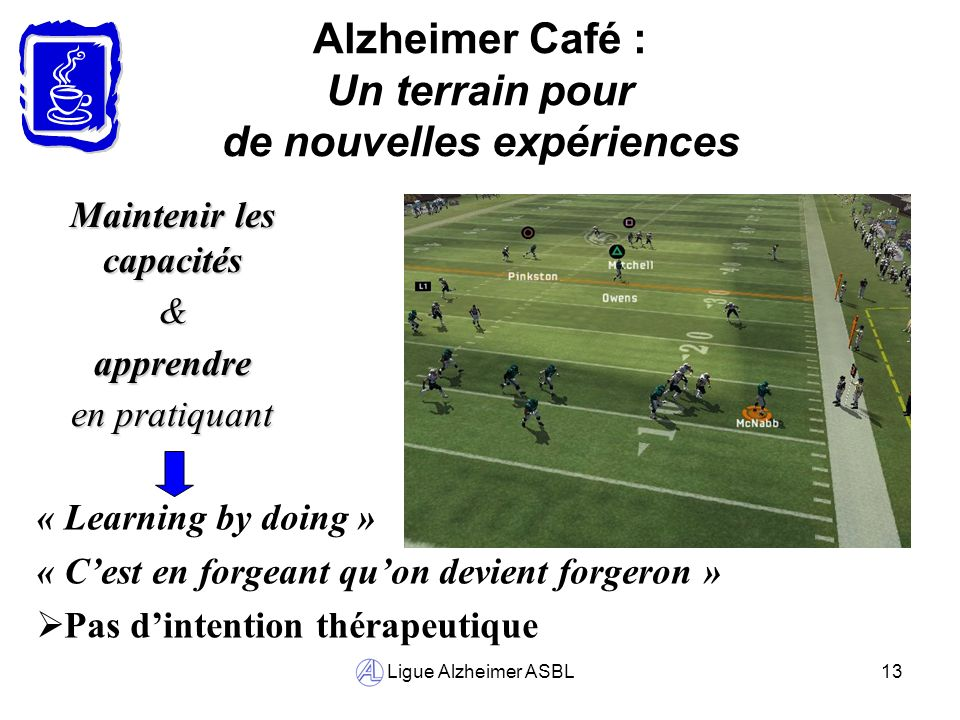 Alzheimer Café : Un terrain pour de nouvelles expériences