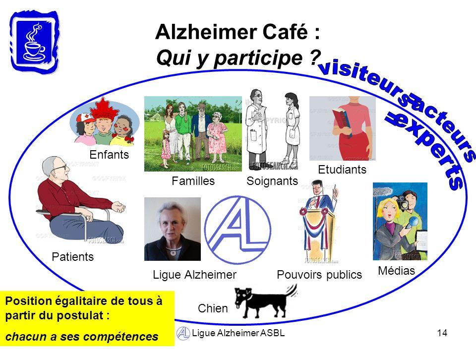 Alzheimer Café : Qui y participe