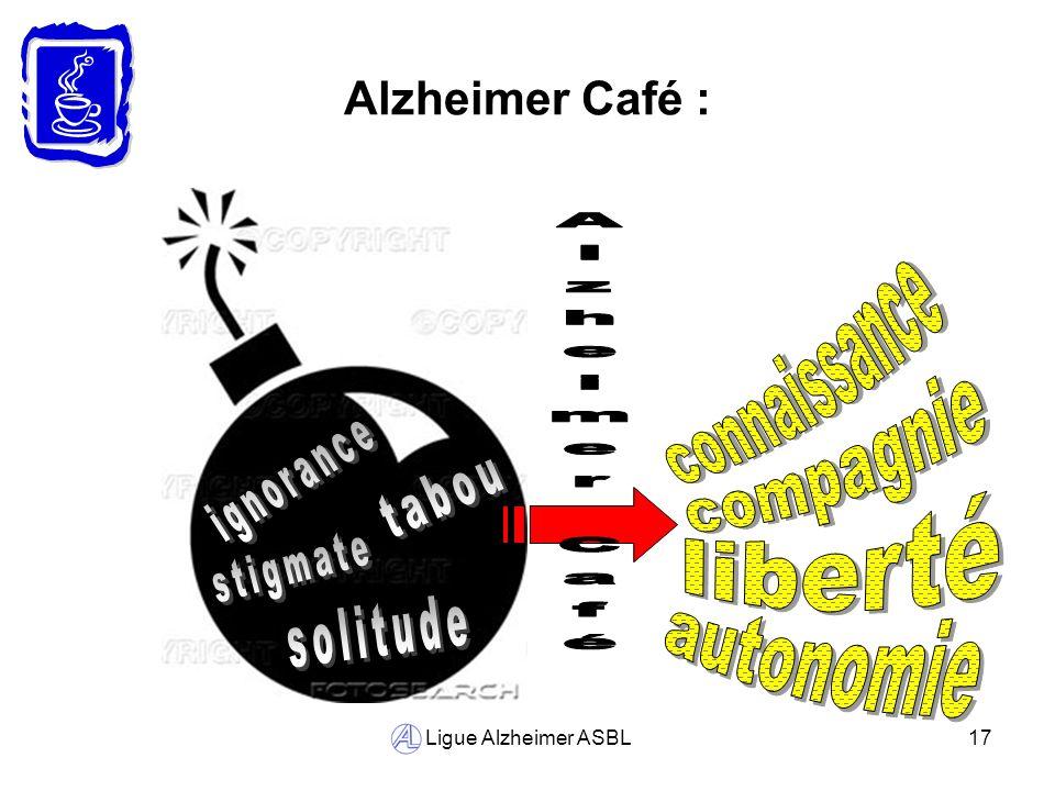connaissance Alzheimer Café compagnie ignorance tabou liberté stigmate