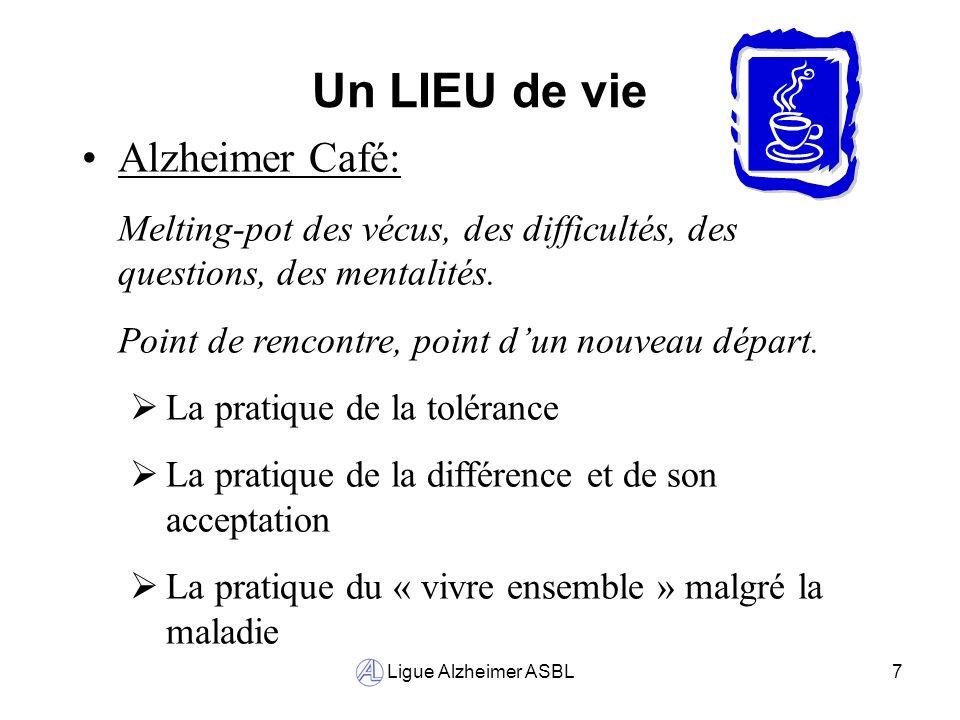 Un LIEU de vie Alzheimer Café: