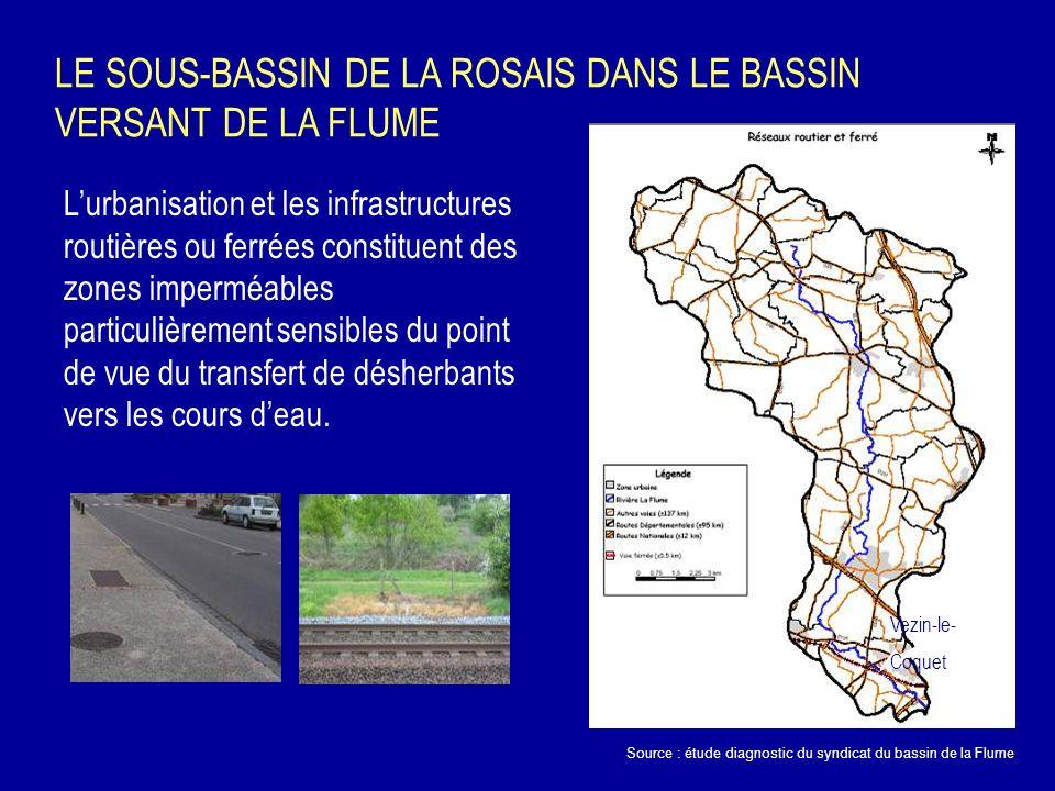 LE SOUS-BASSIN DE LA ROSAIS DANS LE BASSIN VERSANT DE LA FLUME