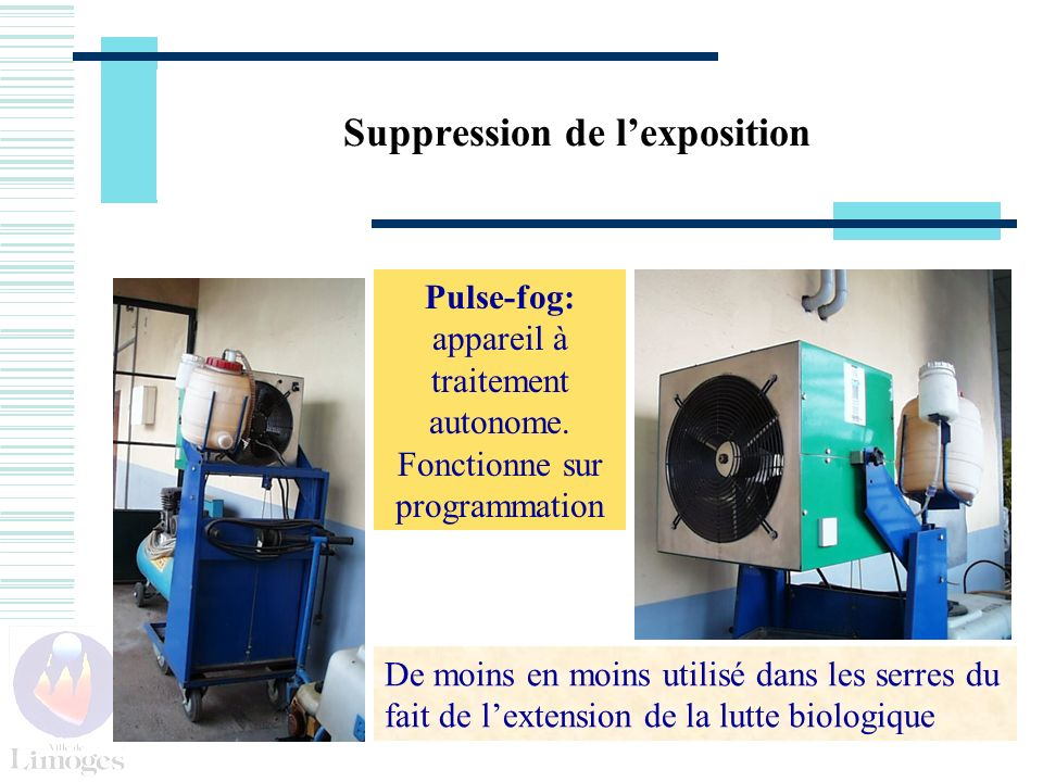 Suppression de l'exposition