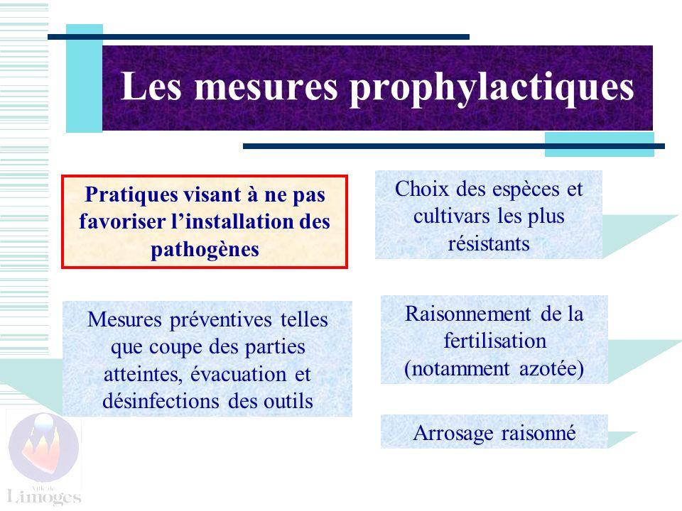 Les mesures prophylactiques