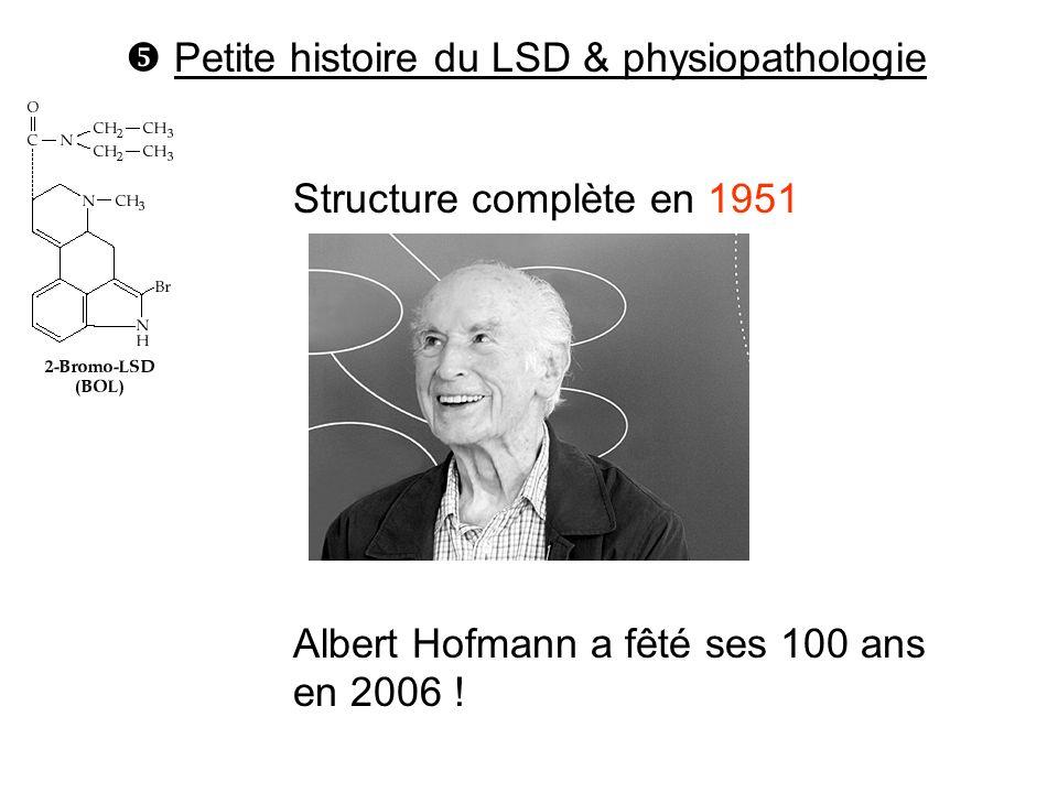  Petite histoire du LSD & physiopathologie