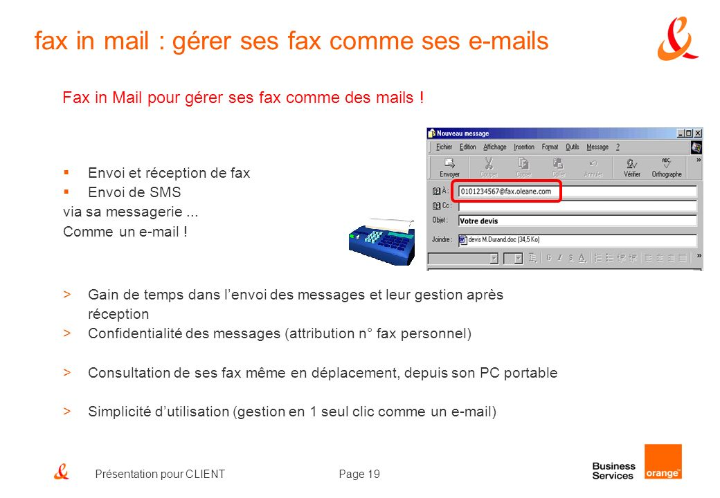 fax in mail : gérer ses fax comme ses e-mails