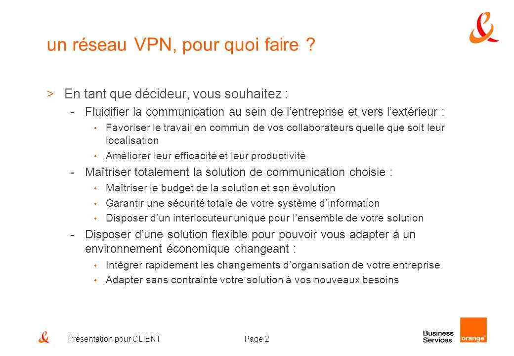 un réseau VPN, pour quoi faire