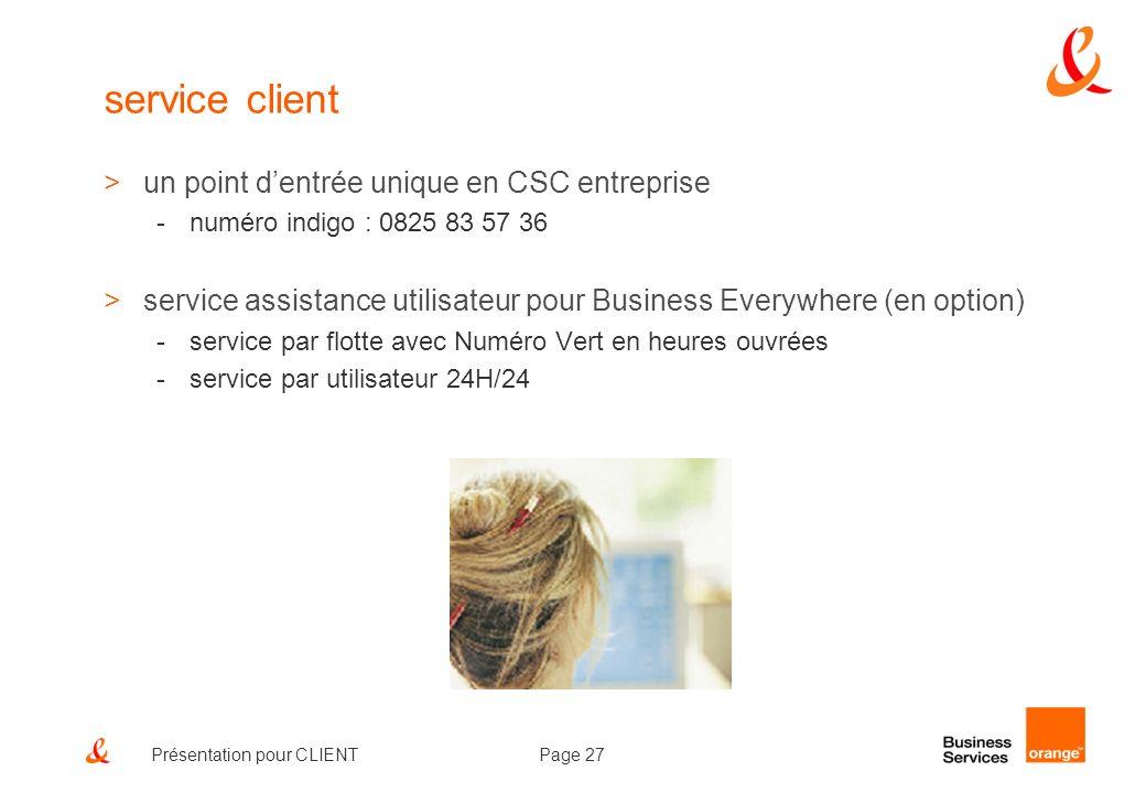 service client un point d'entrée unique en CSC entreprise