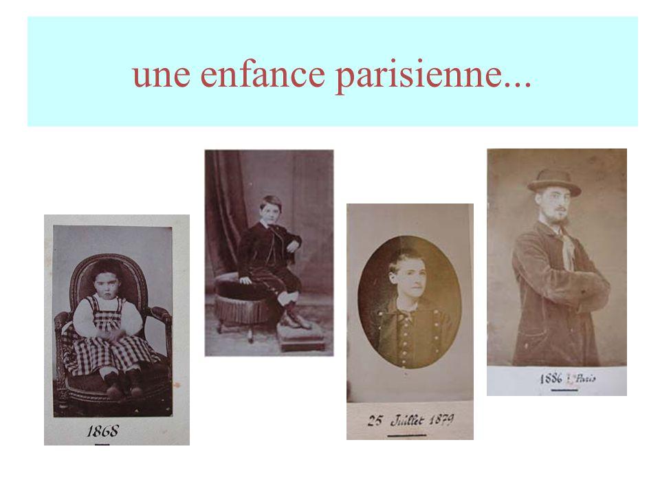 une enfance parisienne...