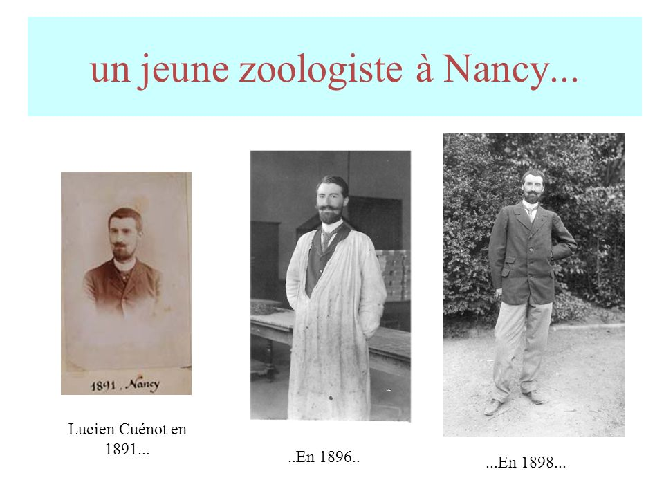 un jeune zoologiste à Nancy...