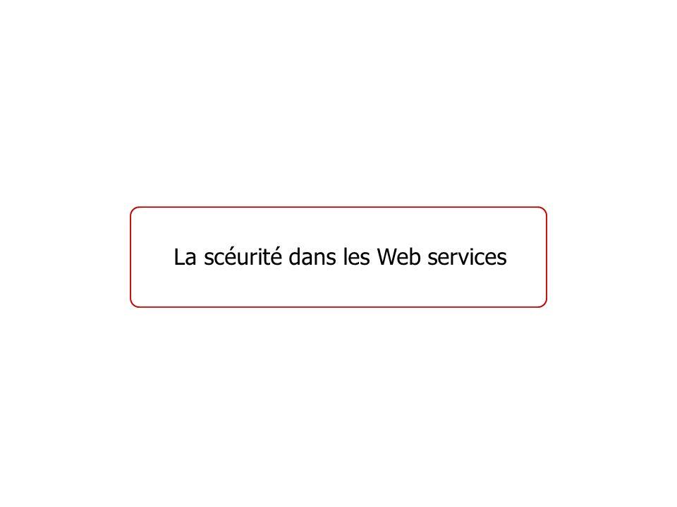 La scéurité dans les Web services