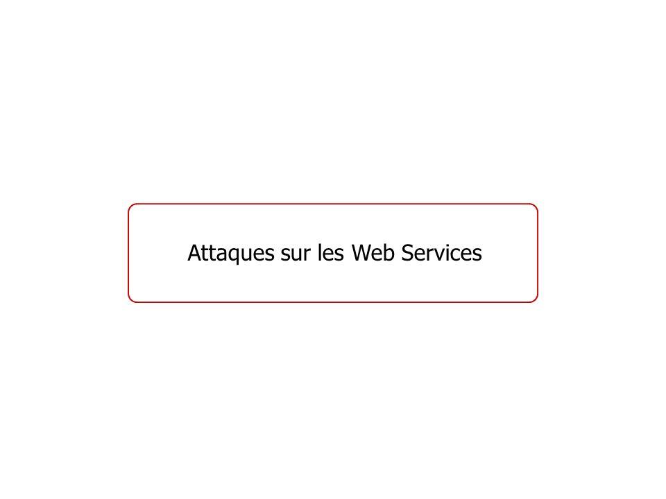 Attaques sur les Web Services