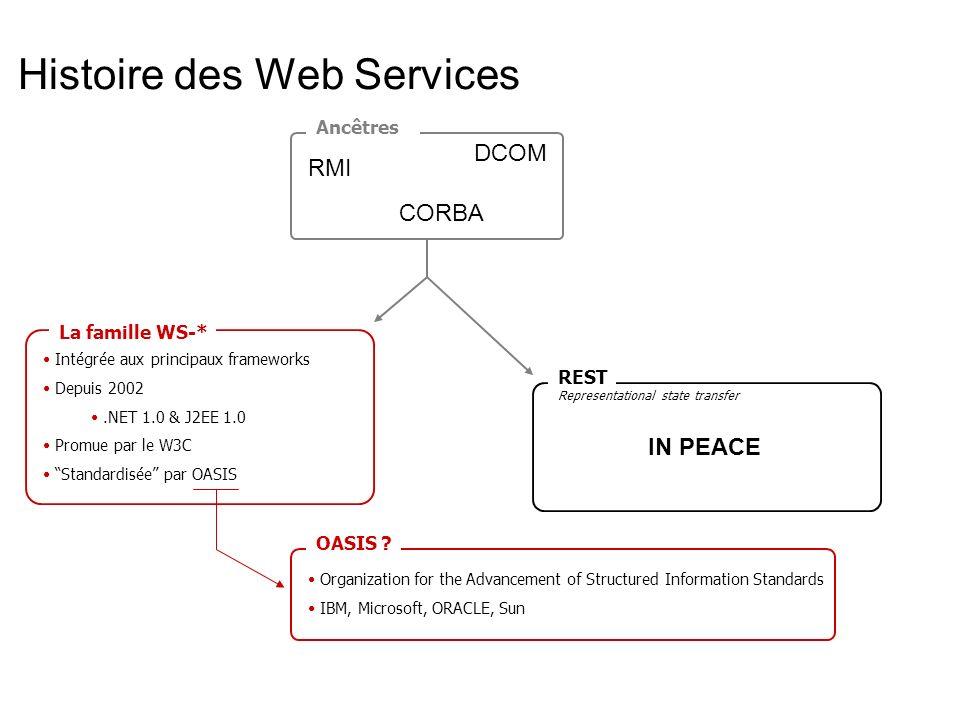 Histoire des Web Services