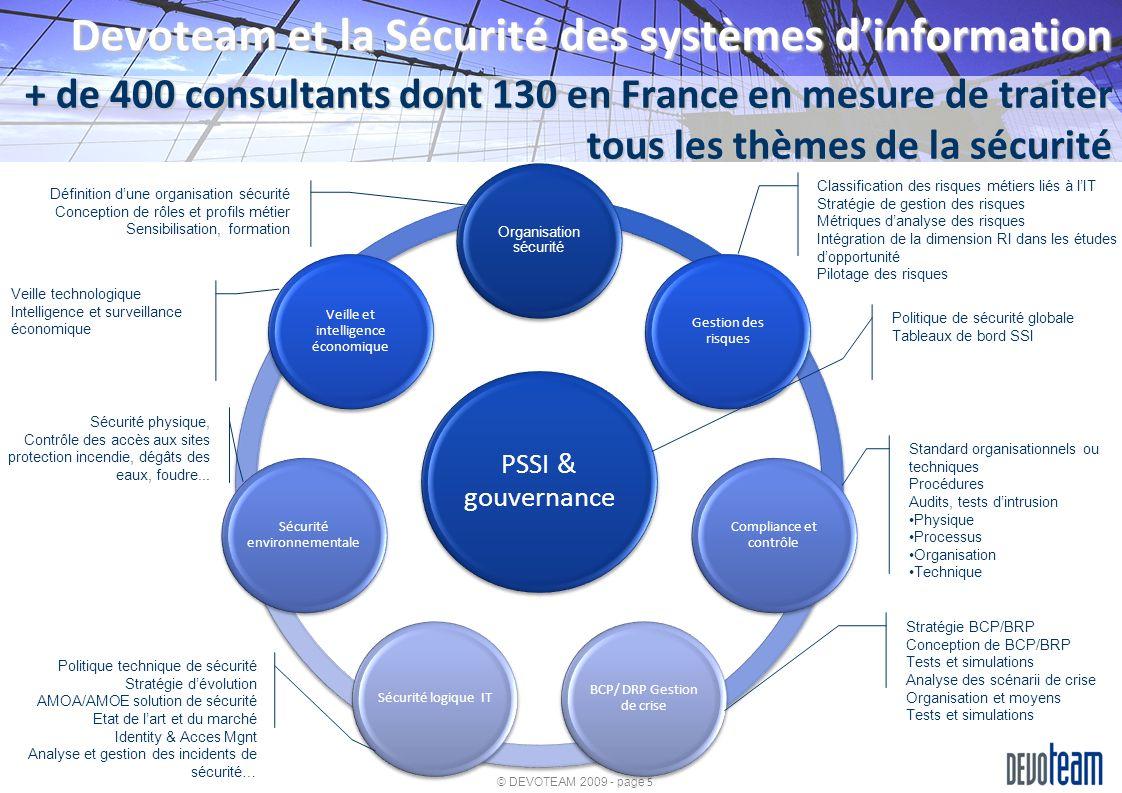 Devoteam et la Sécurité des systèmes d'information