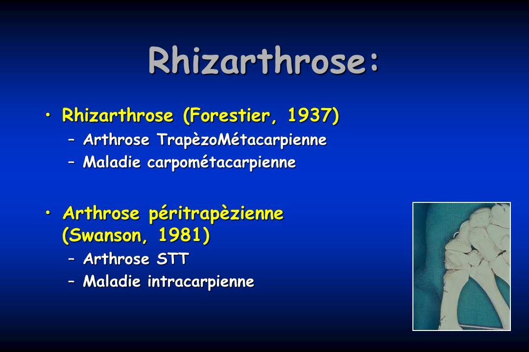 Rhizarthrose: Rhizarthrose (Forestier, 1937)