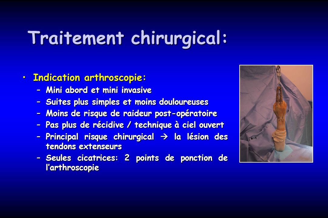 Traitement chirurgical: