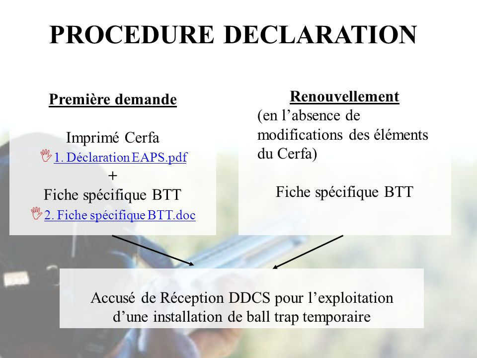 PROCEDURE DECLARATION