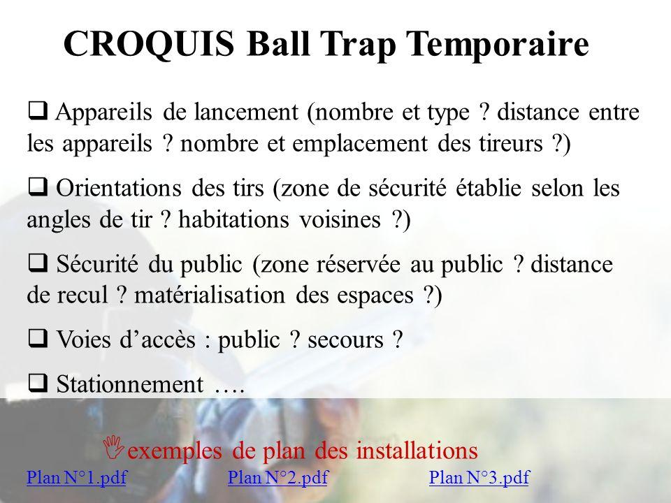 CROQUIS Ball Trap Temporaire