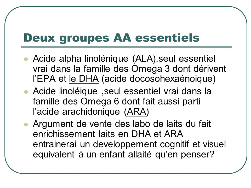 Deux groupes AA essentiels