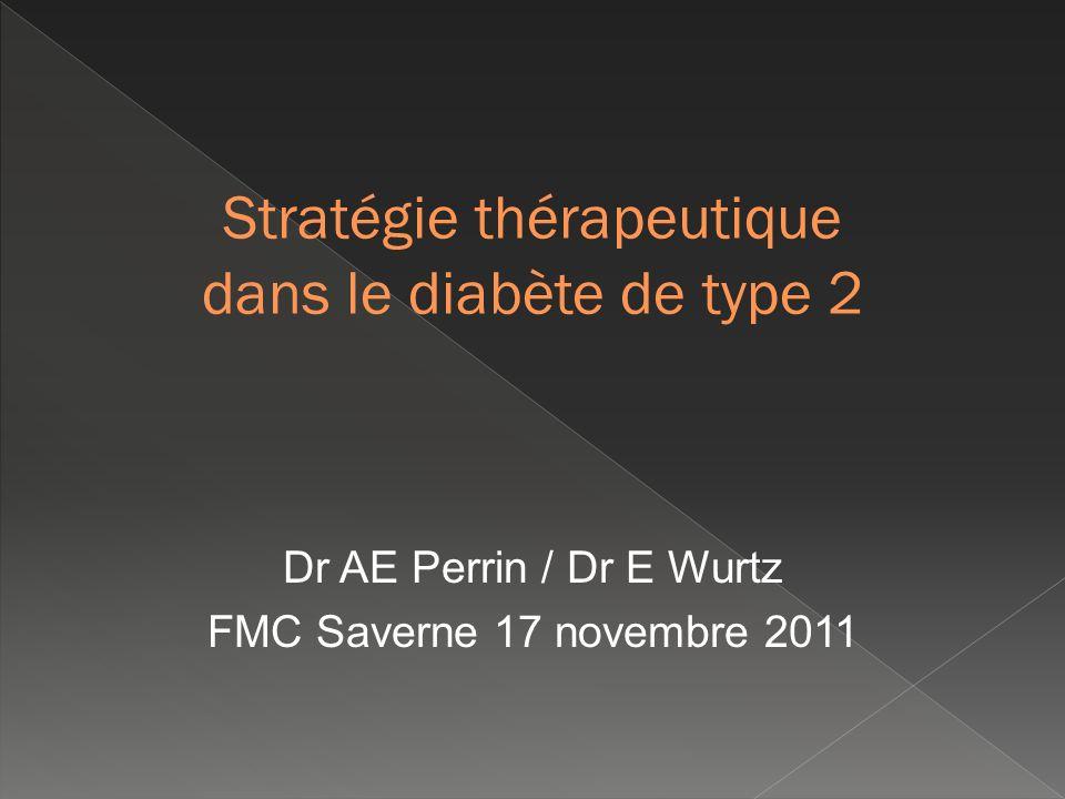 Stratégie thérapeutique dans le diabète de type 2