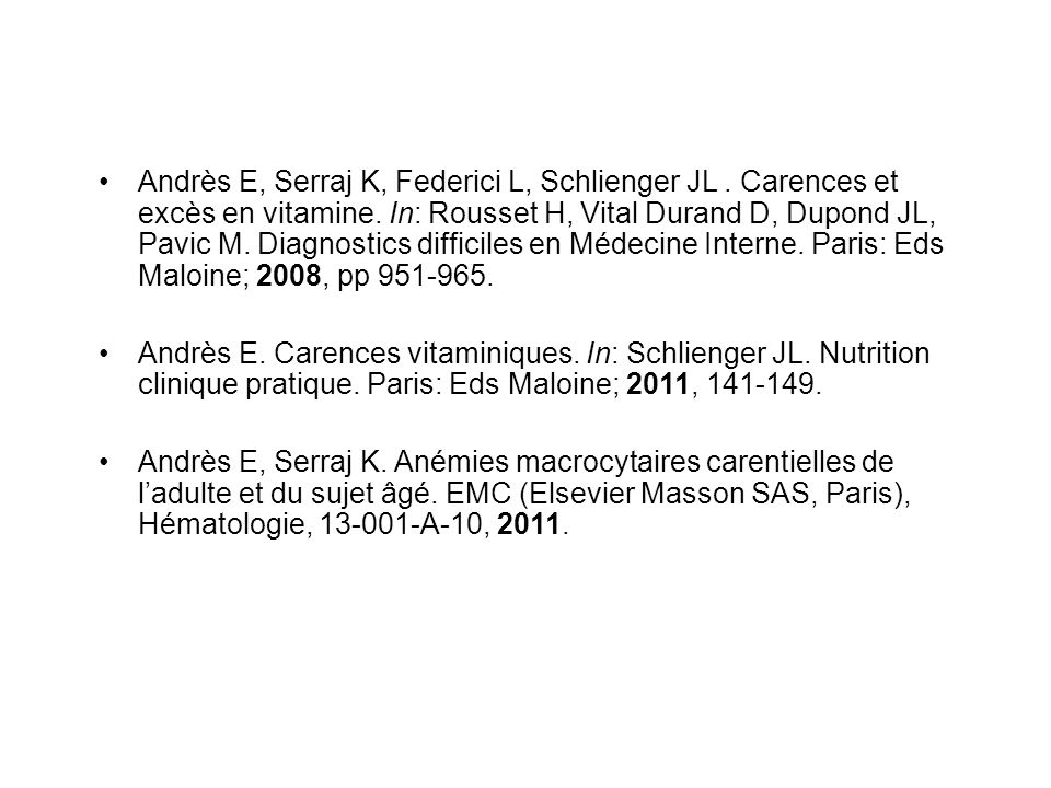 Andrès E, Serraj K, Federici L, Schlienger JL