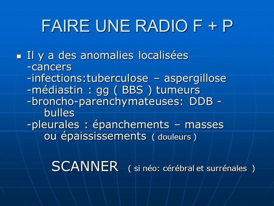 FAIRE UNE RADIO F + P