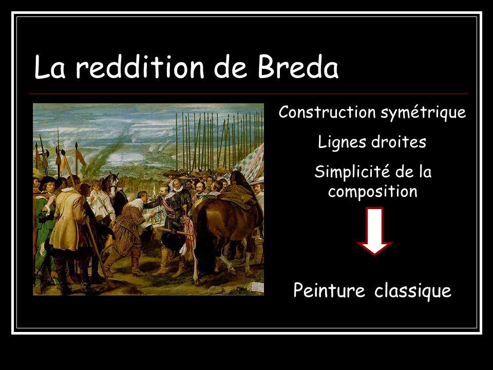 La reddition de Breda Peinture classique Construction symétrique
