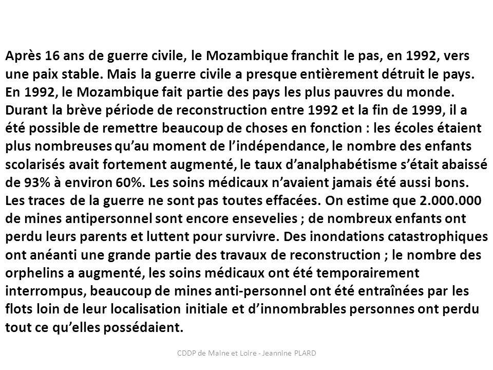 CDDP de Maine et Loire - Jeannine PLARD