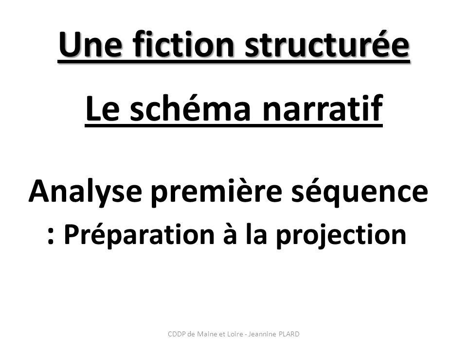 Une fiction structurée