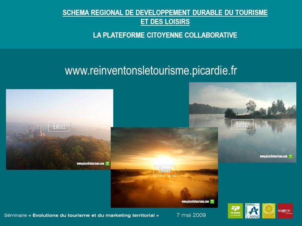 SCHEMA REGIONAL DE DEVELOPPEMENT DURABLE DU TOURISME ET DES LOISIRS