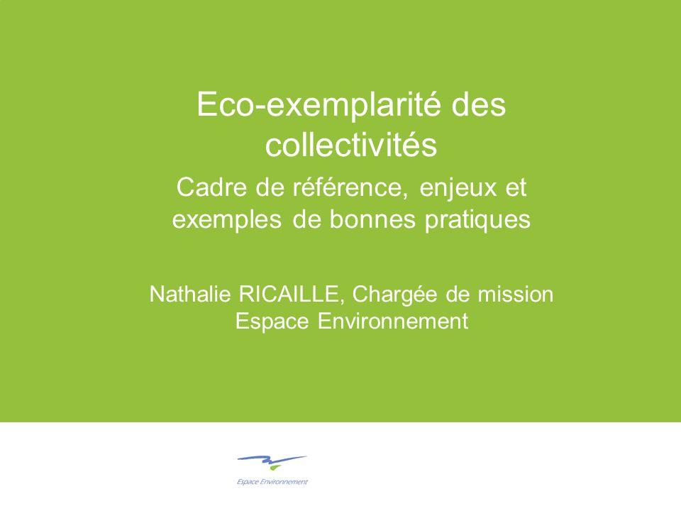 Eco-exemplarité des collectivités