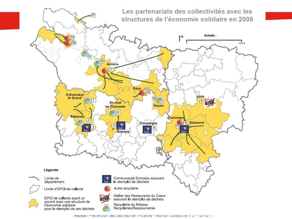 Réseau Prévention des déchets en Picardie - réunion collective n°3 - 13/10/11