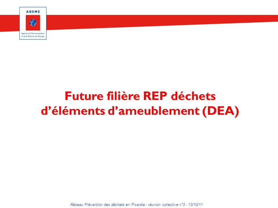 Future filière REP déchets d'éléments d'ameublement (DEA)