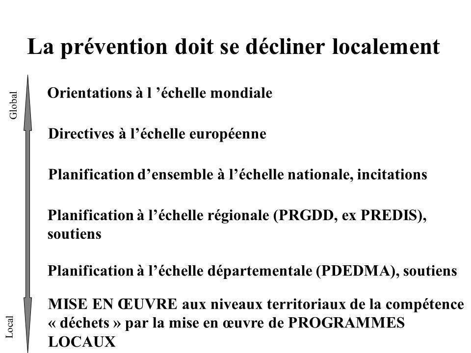 La prévention doit se décliner localement