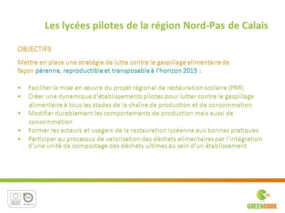 Les lycées pilotes de la région Nord-Pas de Calais