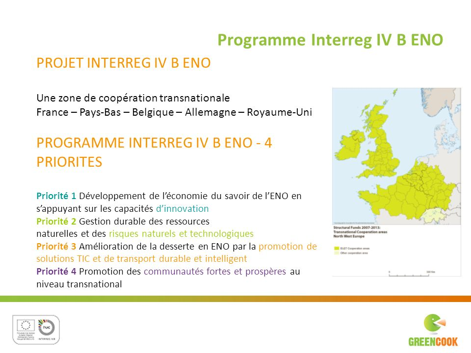 Programme Interreg IV B ENO