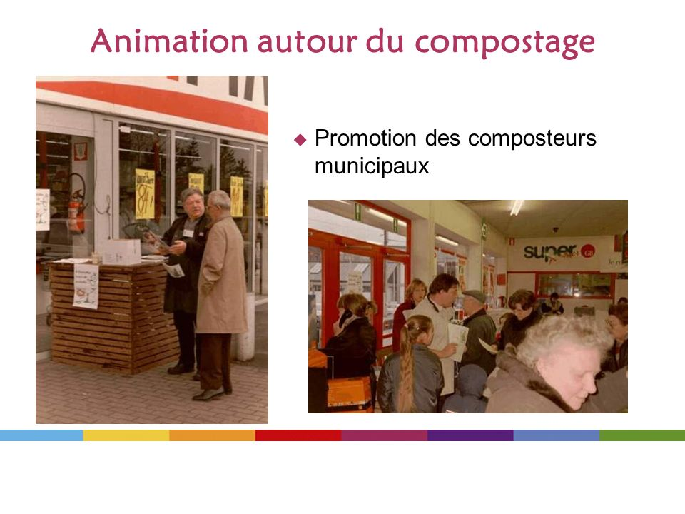Animation autour du compostage
