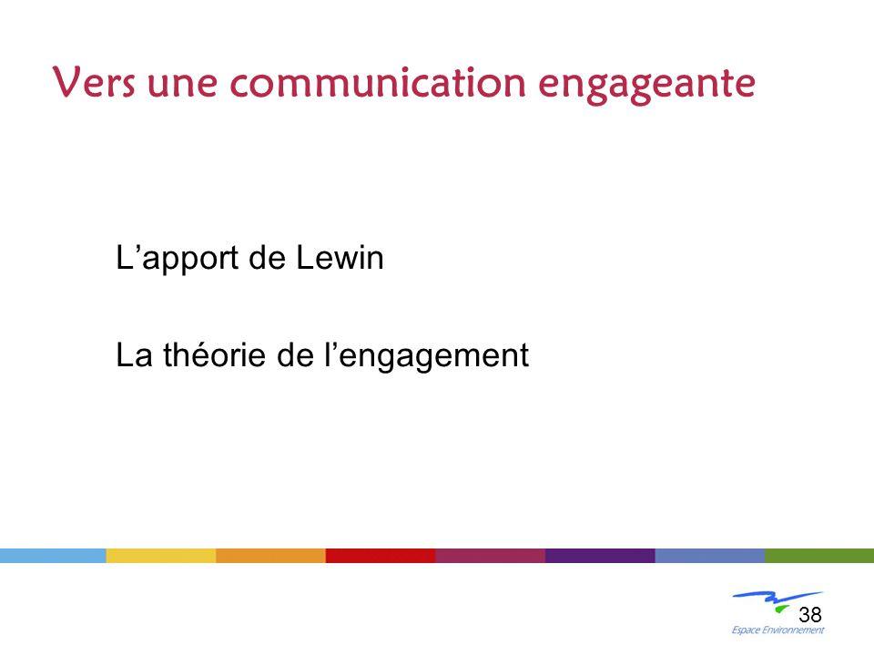 Vers une communication engageante