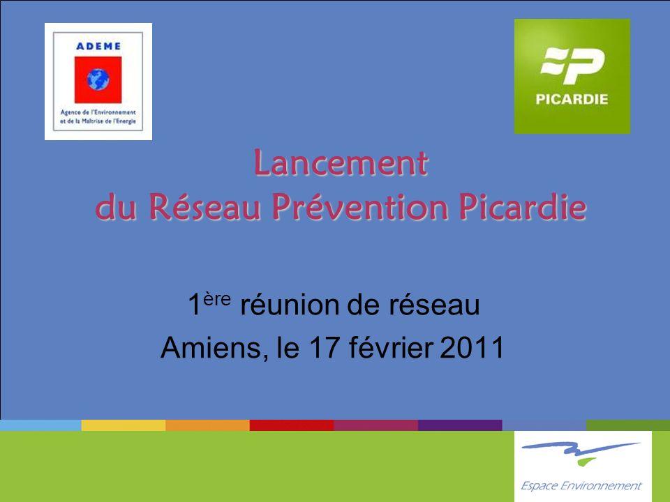 Lancement du Réseau Prévention Picardie