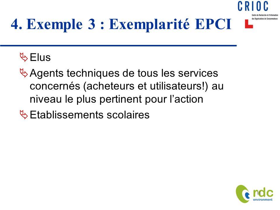 4. Exemple 3 : Exemplarité EPCI