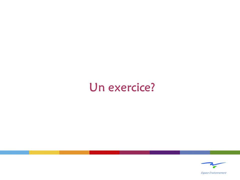 Un exercice