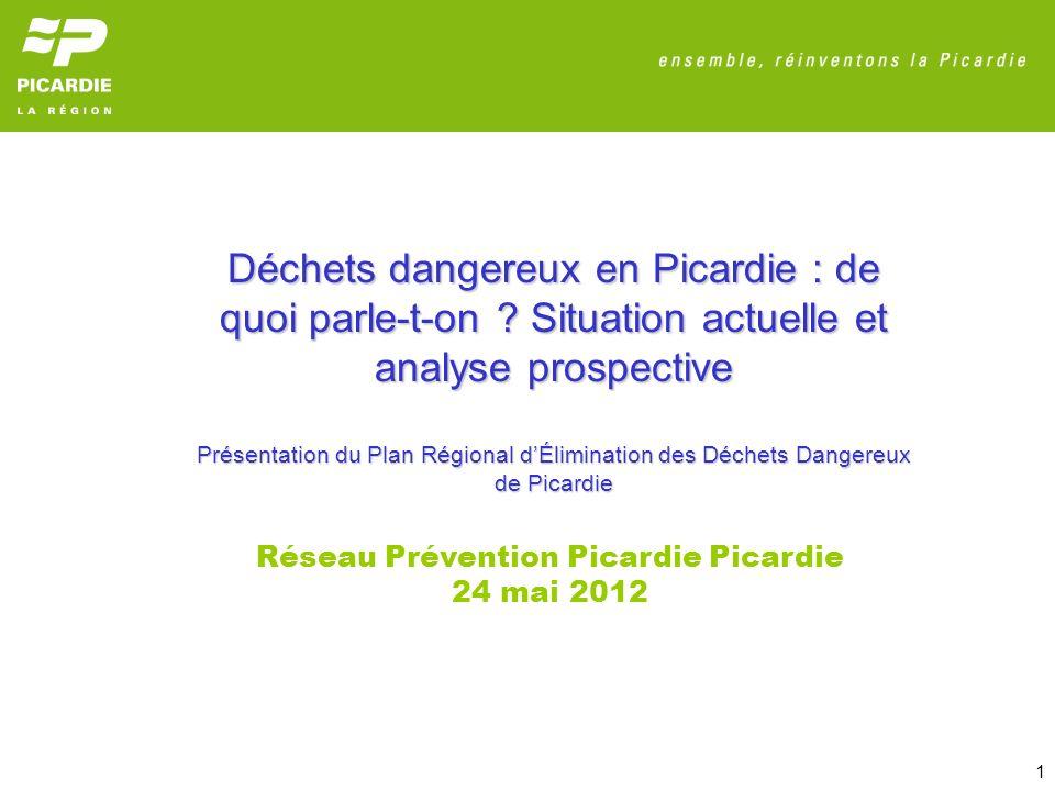 Déchets dangereux en Picardie : de quoi parle-t-on