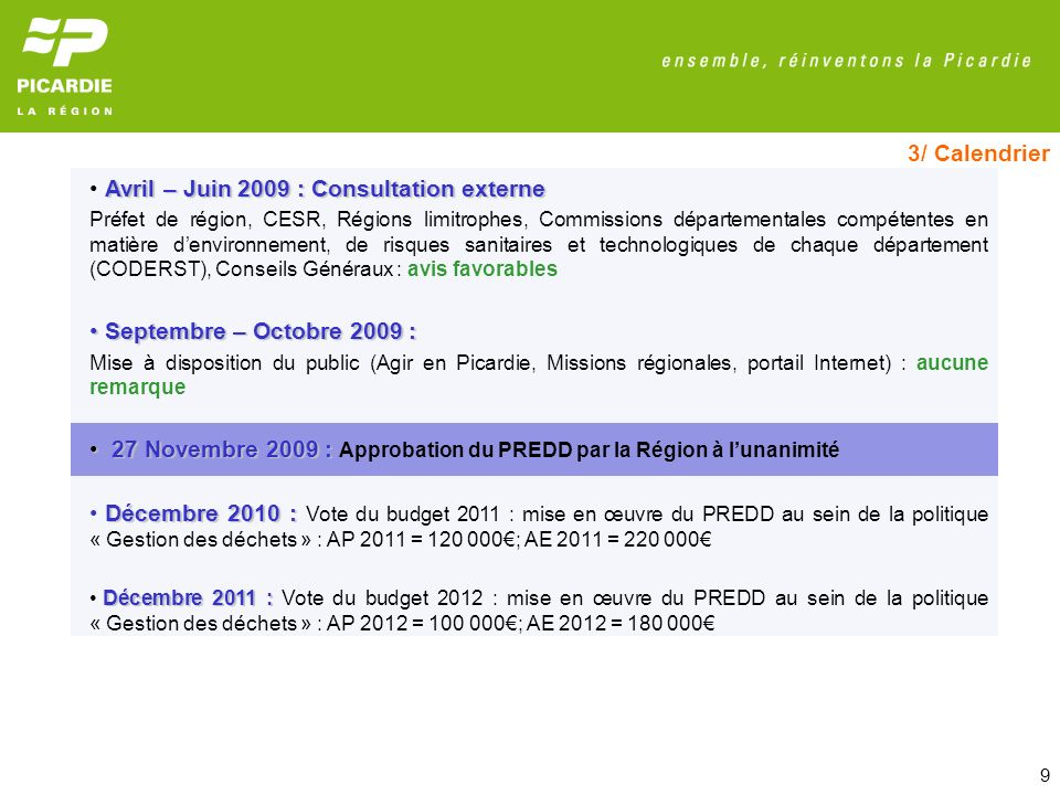 Avril – Juin 2009 : Consultation externe