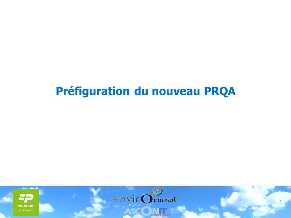 Préfiguration du nouveau PRQA