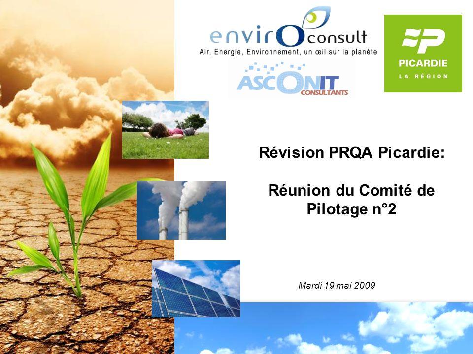 Révision PRQA Picardie: Réunion du Comité de Pilotage n°2