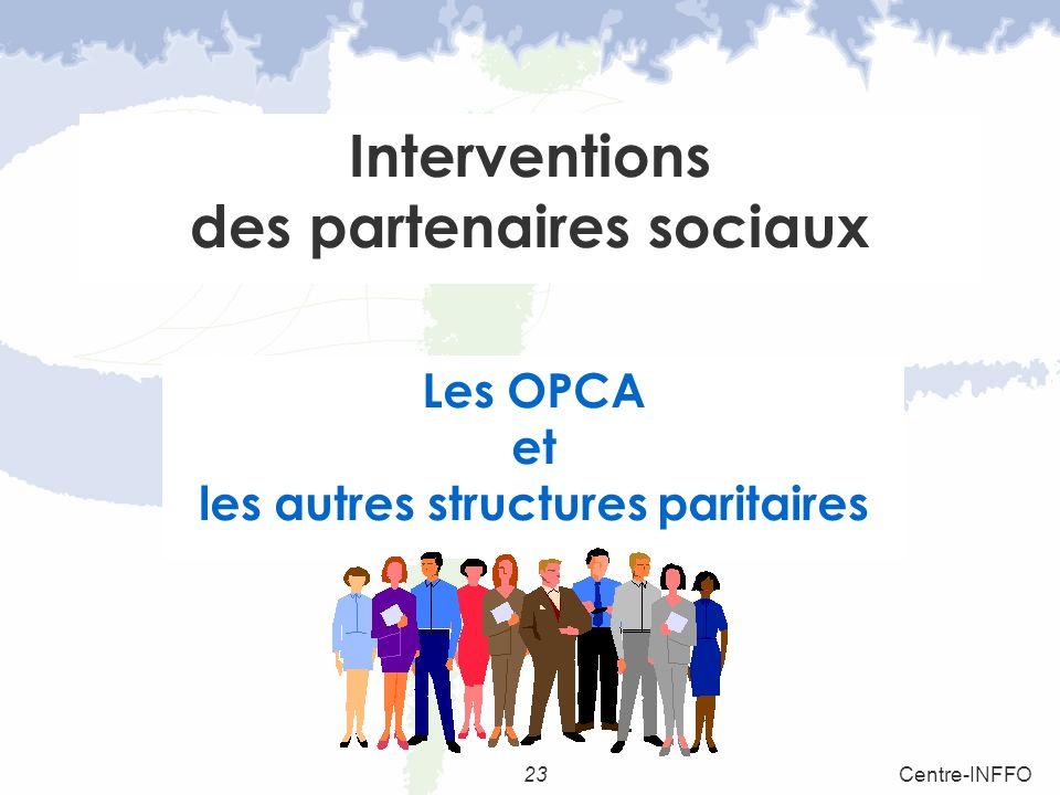 Interventions des partenaires sociaux