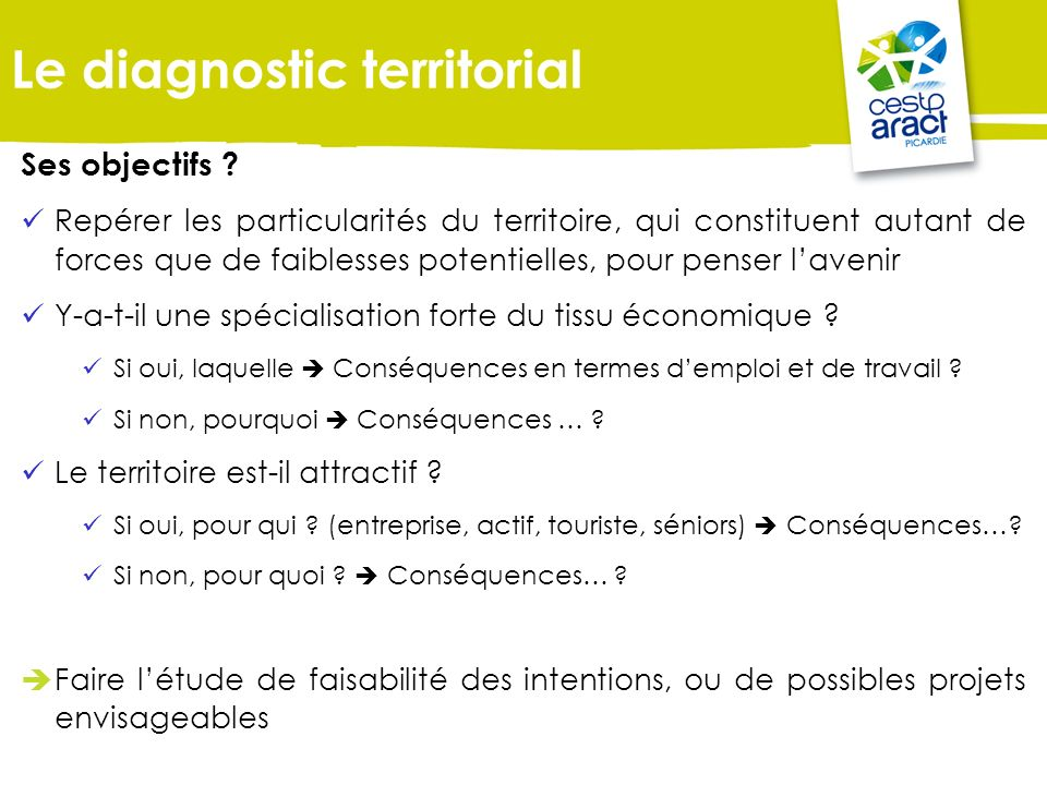 Le diagnostic territorial