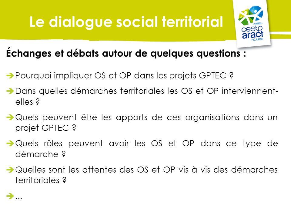 Le dialogue social territorial