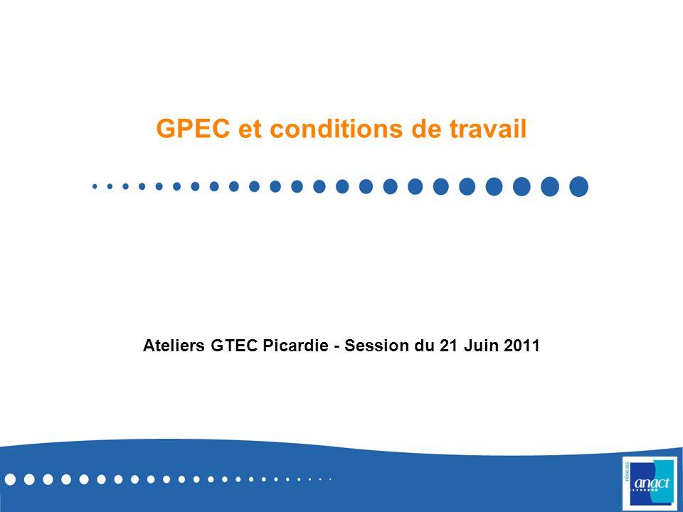 GPEC et conditions de travail